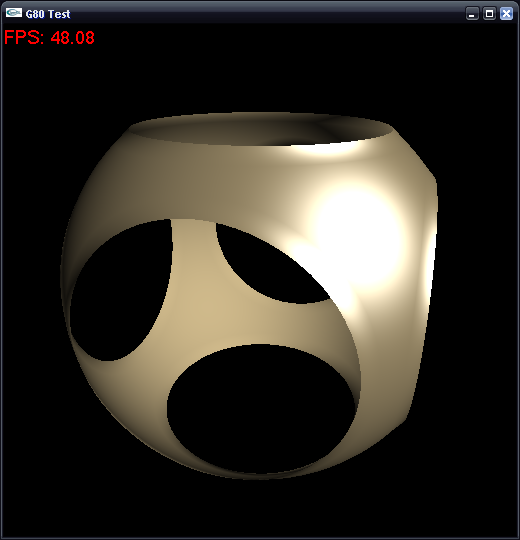 OpenGL Geometry Shader Marching Cubes