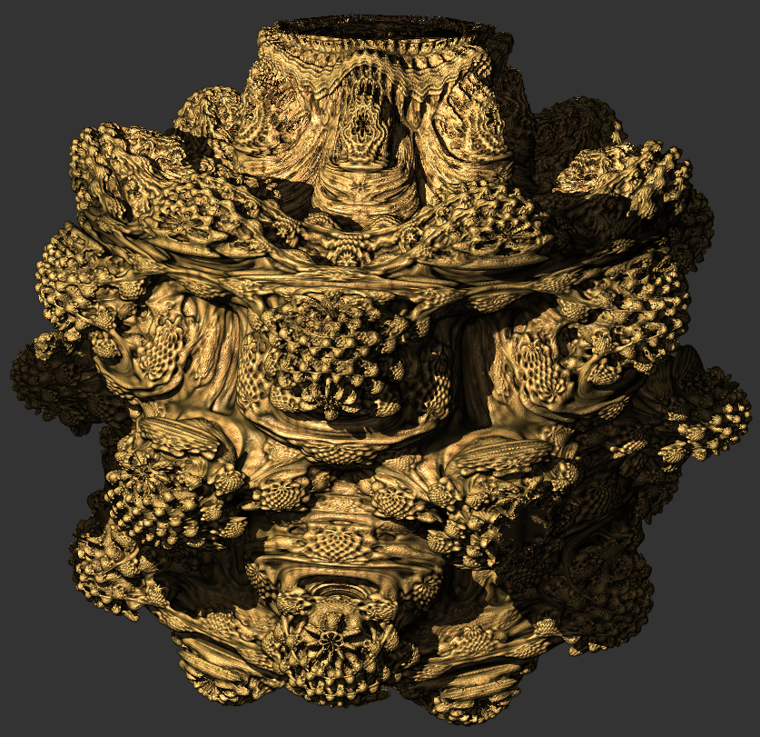 GigaBroccoli: The Mandelbulb into GigaVoxels