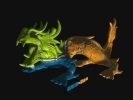 cudaGigaVoxels_SoftShadows_Dragon3